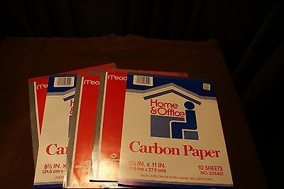 Carbon Paper Tablets- 40 SHEETS  - 8 1/2x11 MEAD/HOME AND OFFICE