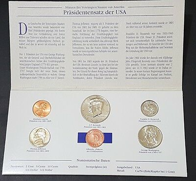 President set (5 coins) of the USA 1996 United States of America (USA)