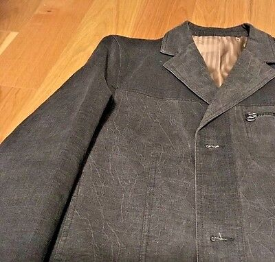 Giovanni Cotton Jacket 40R Green Sport Coat