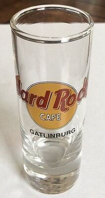 Hard Rock Cafe Shot Glass (GATLINBURG) 4 inches in height New condition