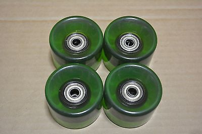 Skateboard Cruiser Wheels Dark Green With Abec 7 Bearings 59Mm Suit Penny Boards