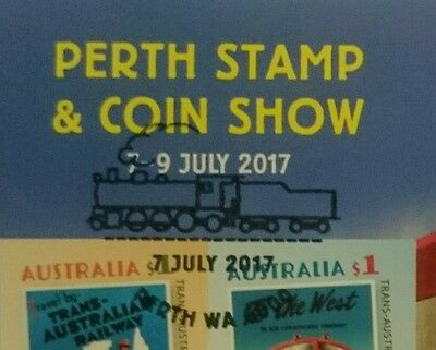Perth Stamp Show 2017 CTO Cancel To Order And Mint MNH Minisheet With Show Logo