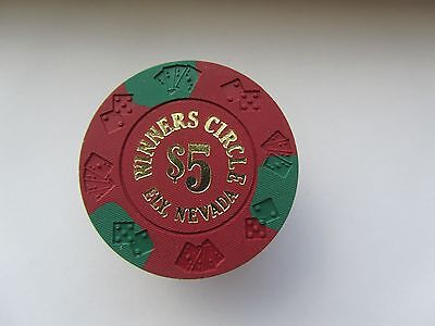 Winners Circle Casino - ELY, NV -  OBSOLETE CASINO CHIP