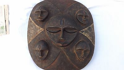 African Mask with 5 faces