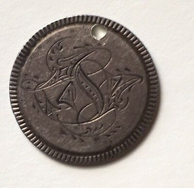 Love Token Seated Liberty Engraved