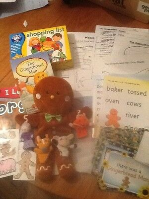 The Gingerbread Man story sack and teaching resource