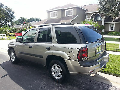 2003 Chevrolet Trailblazer  2003 CHEVROLET TRAILBLAZER* LIKE NEW! FLORIDA OWNED BY GRAMPPY! NEVER SMOKED IN!