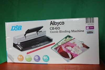 Albyco CB-60 Comb Binding Machine Bindegerät