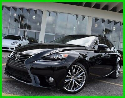 2014 Lexus IS 250 2014 250 Used 2.5L V6 24V Automatic RWD Sedan Premium Moonroof