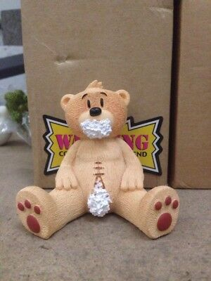 1 x Bad Taste Bear Phil Collectable Rude Funny Xmas Stocking Filler