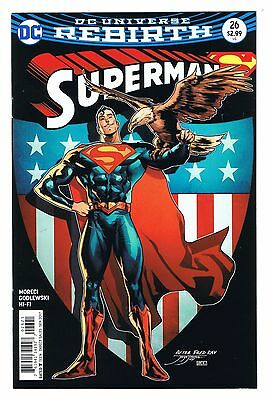 (2017) Dc Universe Rebirth Superman #26 Variant Edition Flat Rate S/h