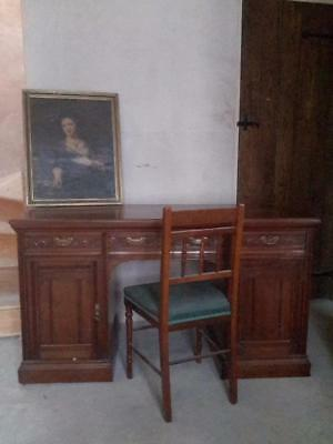 Antique Mahogany Dressing Table / Desk   ..couriers