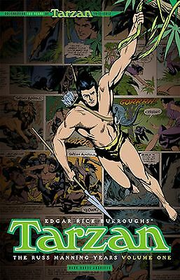 Tarzan The Russ Manning Years Vol 1 Hardcover Book  Dark Horse Archives - Damage