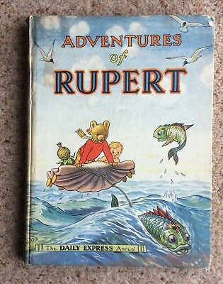 Rupert Book Annual 1950 Good Overall Condition .