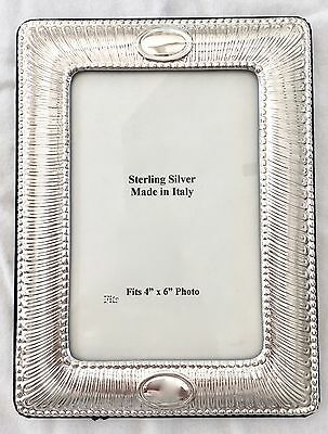 WALLACE STERLING SILVER PICTURE FRAME (NEW IN BOX) - Made in Italy