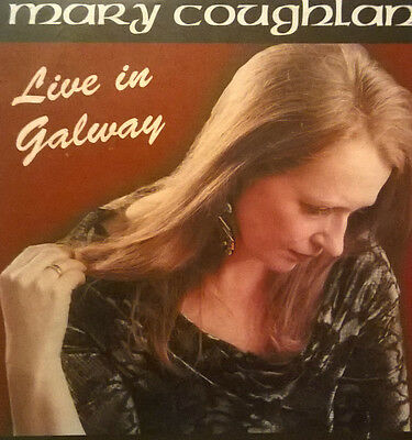 Mary Coughlan * Live In Galway *  Rare 14 Track Irish Promo Cd