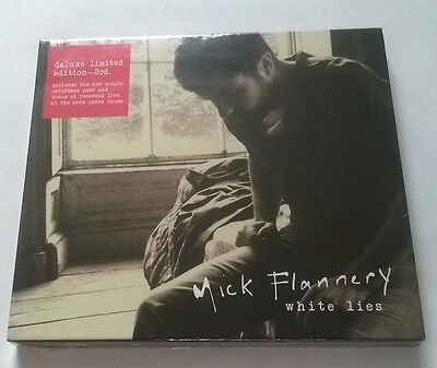 Mick Flannery * White Lies * Deluxe Limited Edition 2 Cd Set Inc Bonus Live Disc