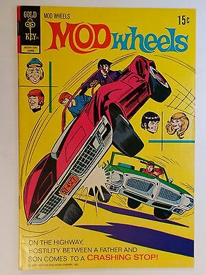 Mod Wheels #6 1972 Graded FN (6.0) Gold Key