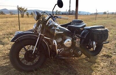 1942 American Classic Motors Harley Davidson WLC   1942 Harley-Davidson wlc with a Samwell sidecar
