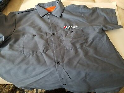 Brand new Pepsi driver uniform shirt  XL