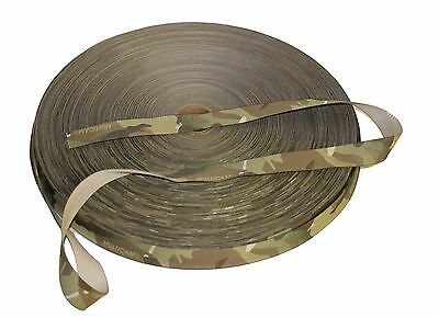 "19mm - 0.75"" Nylon Binding Tape Crye Multicam ( Military Webbing MTP"