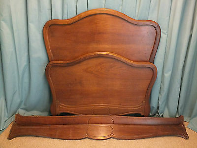Antique French Bed Louis Phillipe Style
