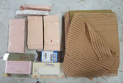 VINTAGE 50's ELASTIC BINDING LACE for UNDERWEAR or CORSETRY