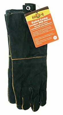 ChefMaster 40113X Mr. BarBQ Long Leather BBQ Gloves