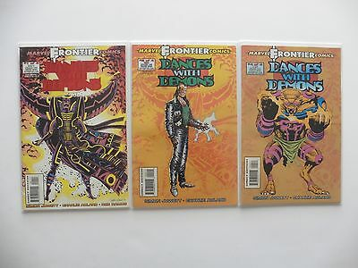 Dances With Demons Issues 1, 2, 4 Marvel Comics