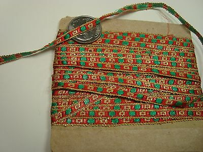 Antique Ribbon For French Fashion / Bisque Dolls Sewing And Miniatures