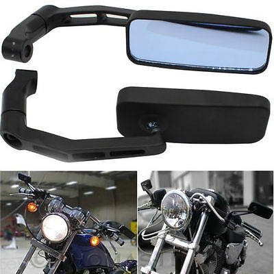 8mm 10mm UNIVERSAL Motorcycle Wing Side Mirrors Anti Glare Motorbike Rearview