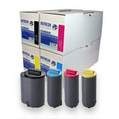 Refresh Cartridges Toner Compatible With Samsung Clp-350 Printers Choose Colours