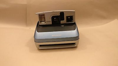 Vintage Polaroid One600 Ultra Classic 600 Instant Film Light Blue Camera Tested