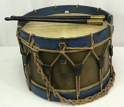 Vintage French Military Jerome Thirduville-Lamy Drum