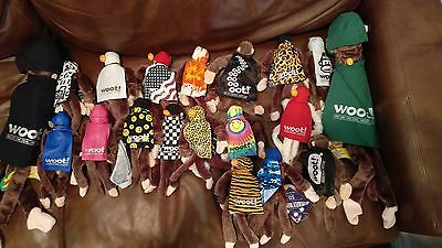 WOOT! FLYING SCREAMING MONKEY Lot of 19 Including Giant Monkeys and Glow in dark