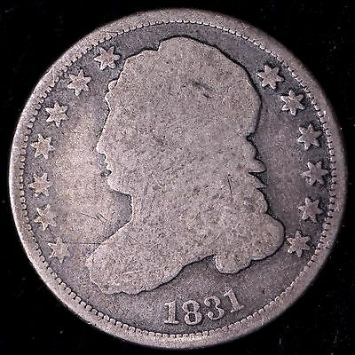 1831 Capped Bust Dime R10TCN AW