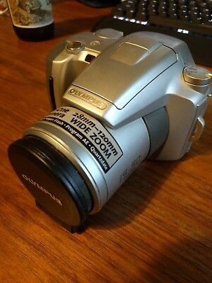 Olympus SLR All-in-one Camera, 28-120mm wide zoom