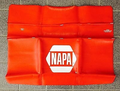 Vintage~Napa Mechanics Fender Cover Protect~Made In The Usa