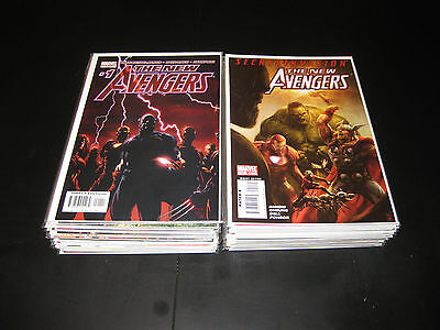 Marvel New Avengers Lot 1-64 Finale Annual 1 And 2 Plus!! Complete Run!!