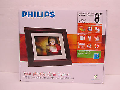 "Philips Philips SPF3482/G7 8 Digital PhotoFrame 8"" Digital Picture Frame"