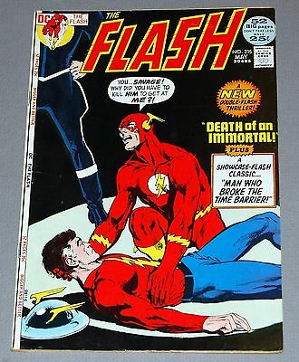 FLASH #215 HIGH GRADE VF- DC Silver Age Golden Age Flash Barry Allen Neal Adams