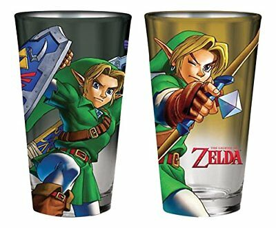 JUST FUNKY Zel-GS2-10352-Jfc Zelda Pint Glass Set