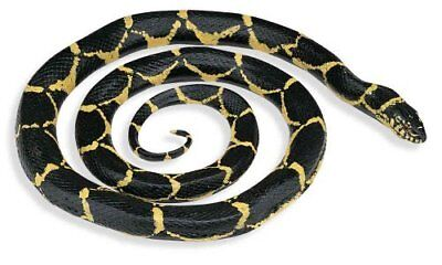 Fake Realistic Rubber Chain Kingsnake Snake Toy Long Garden Props Scary Gag