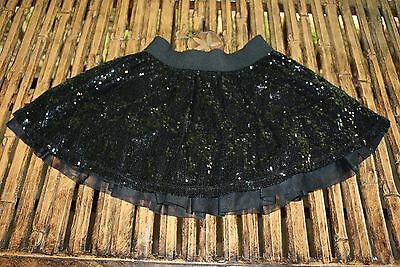 The Children's Place Black Sequined Skirt 12