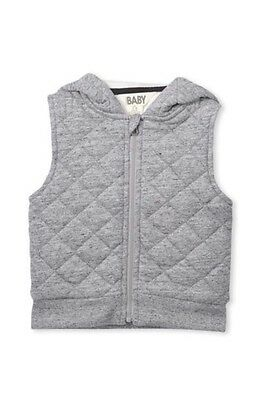 Cotton On Baby Grey Vest - 0-3months