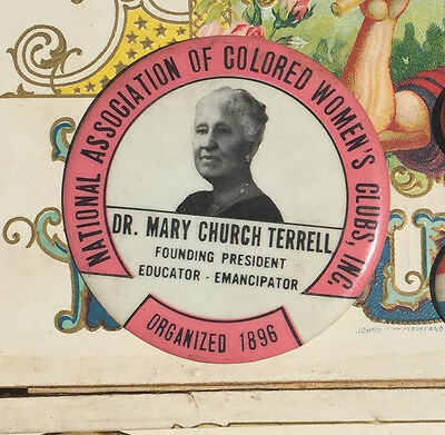 African-American Nat'l Assoc of Colored Women's Clubs pin Mary Terrell-org 1896