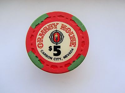 Ormsby House Casino - Carson City , NV- OBSOLETE CASINO CHIP