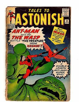 Tales to Astonish #44 1963 First Apperance Wasp