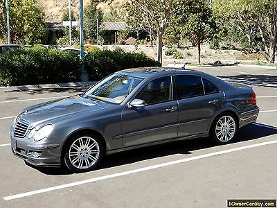 2007 Mercedes-Benz E-Class  2007 Mercedes Benz E550 W211 E-Class 550 E500 500 Series E350 Big Brother P2