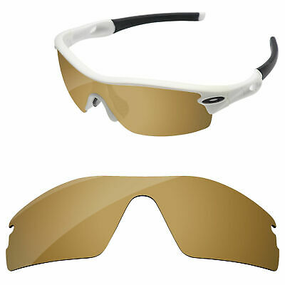 Bronze Gold Mirror Polarized Replacement Lenses For-Oakley Radar Pitch Sunglass